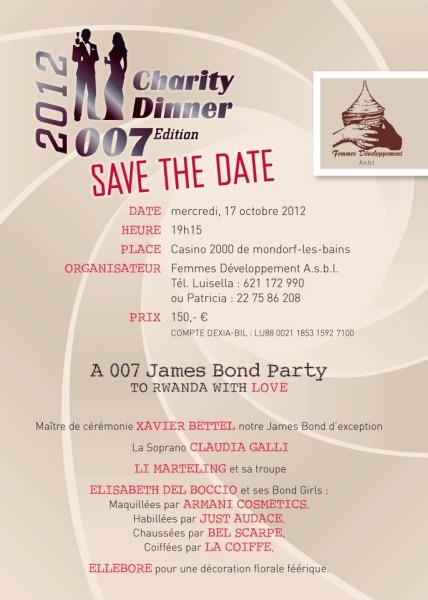 Charity Dinner 2012