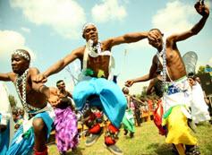 Danse traditionnelle Rwanda